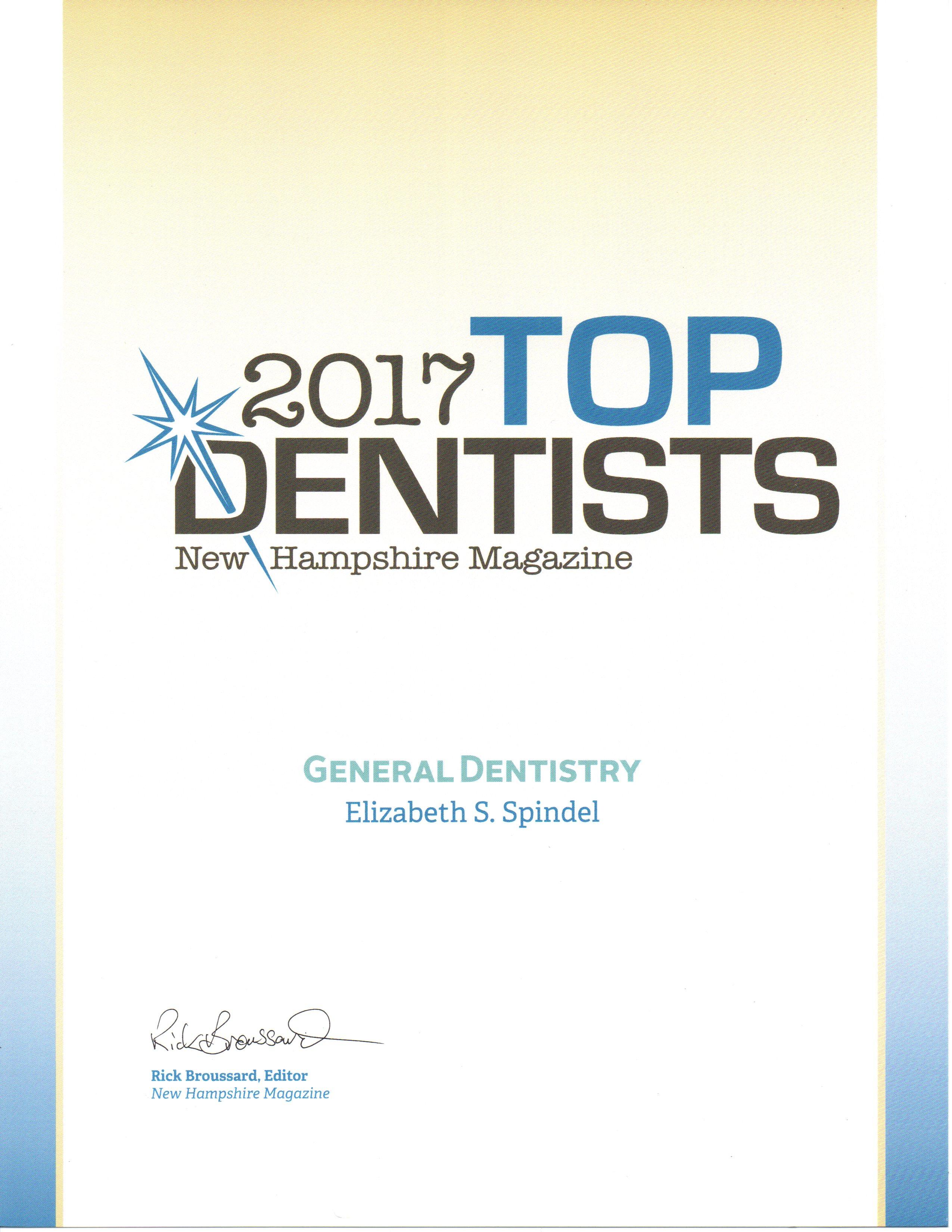 spindel TopDentist 2017